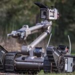 robot militar iRobot PACKBOT 510 ENDEAVOUR ROBOTICs para desactivar explosivos y bombas
