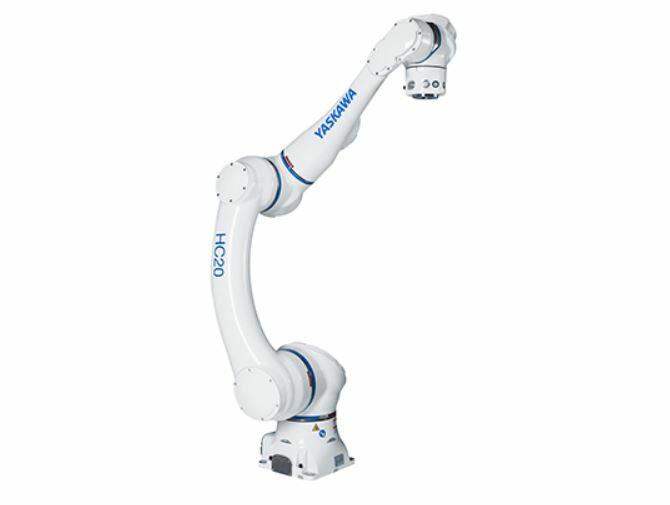 HC20 el robot colaborativo desarrollado para trabajar con humanos