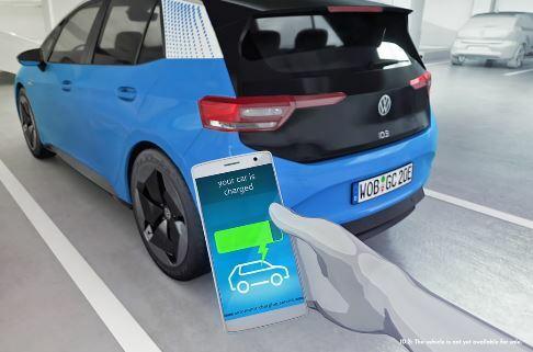 Volkswagen crea un robot que logra cargar varios vehículos al mismo tiempo